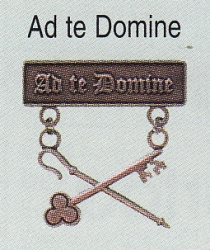 Ad Te Domine medal
