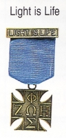 Light is Life medal