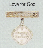Love for god medal